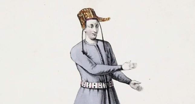 صورة تمثيلية لأحد الموظفين الصم بإخجى المحاكم في الدولة العثمانية
