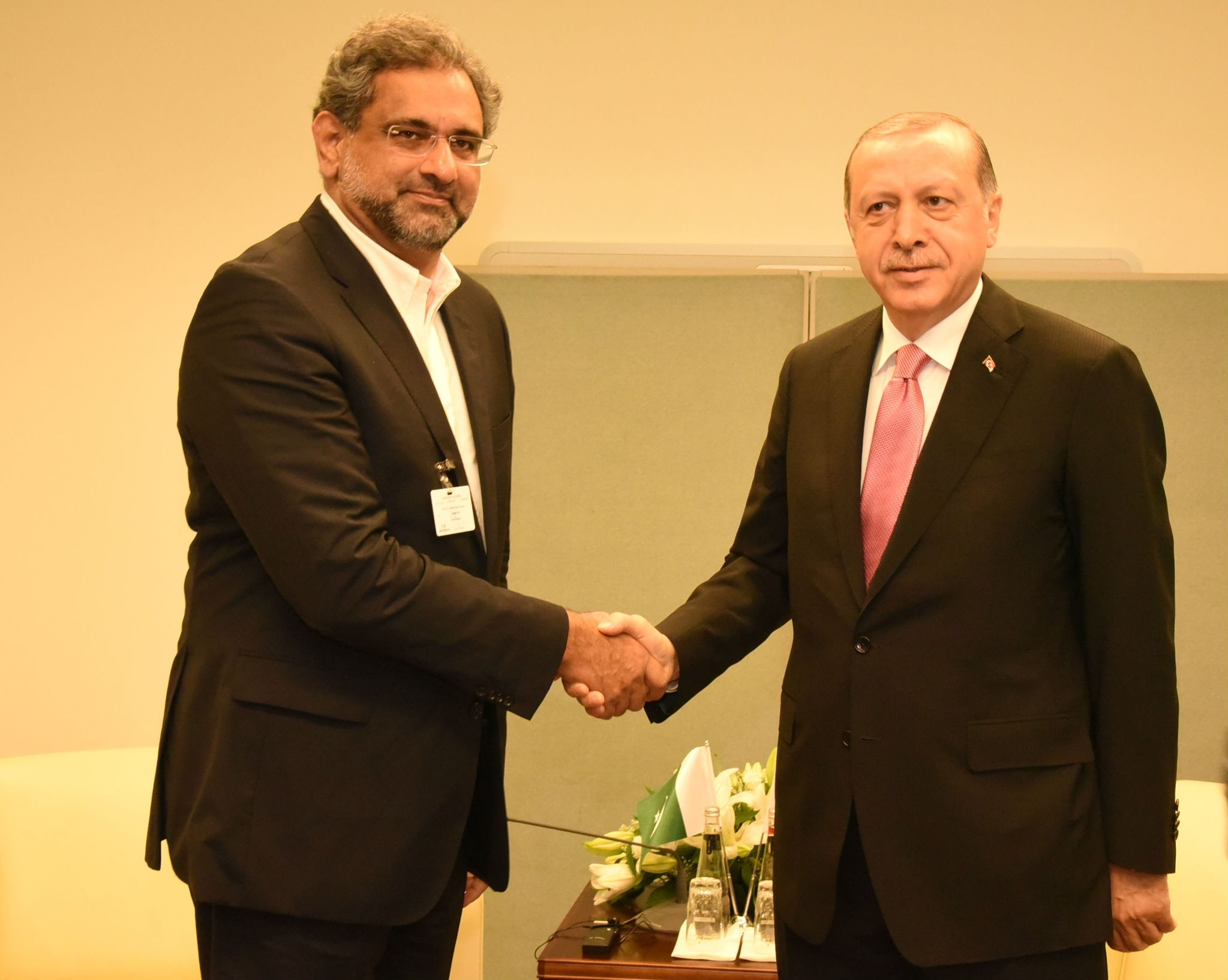 Visiting Turkey for the 9th summit of the Developing 8 (D-8), Prime Minister Abbasi said the relations between the two countries are based on mutual trust that is growing in all domains, including politics, economy, culture and defense.