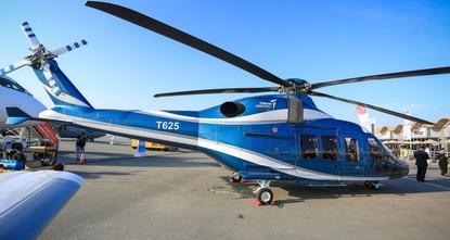 На авиашоу в Бахрейне представлен турецкий вертолет T-625