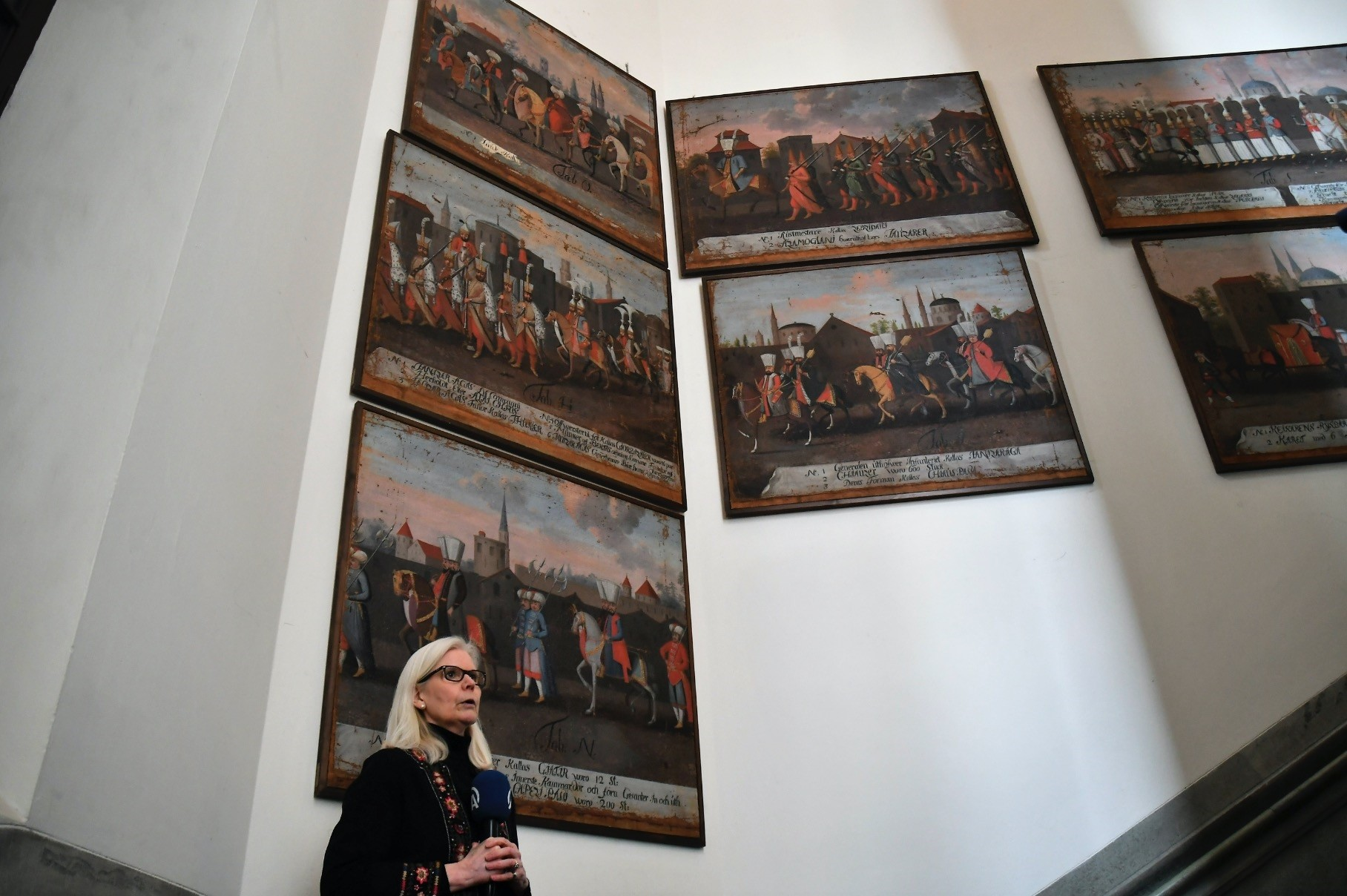 Nordiska Museumu2019s manager, Ulla Karin Warberg said that the paintings are reflections of the cultural relation between the two countries and are priceless.