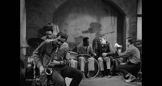 Still from the 1961 film The Connection, directed by Shirley Clarke.