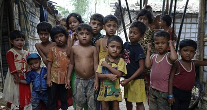 Rohingya children face challenge of getting an education