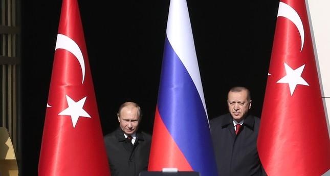 أردوغان وبوتين يبحثان هاتفياً الحل السياسي النهائي في سوريا