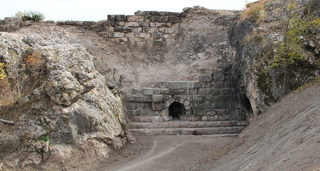 2,000-year-old Örükaya Dam in Çorum province's Alaca district (IHA Photo)