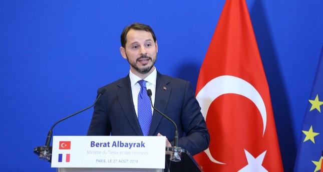 وزير المالية التركي: معدل نمو الربع الثاني يشير إلى بدء مسار التوازن الاقتصادي