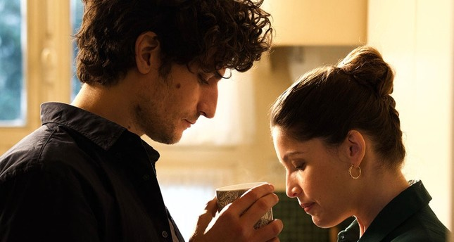 Louis Garrel and Laetitia Casta as Abel and Marianne.