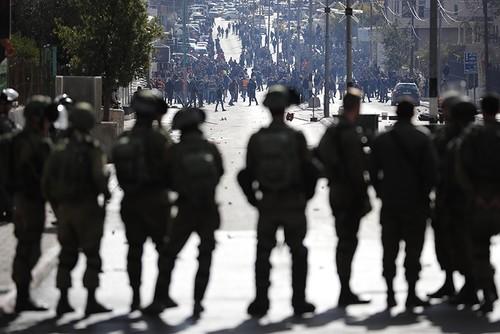 Palestinians widely protest Trump's Jerusalem decision