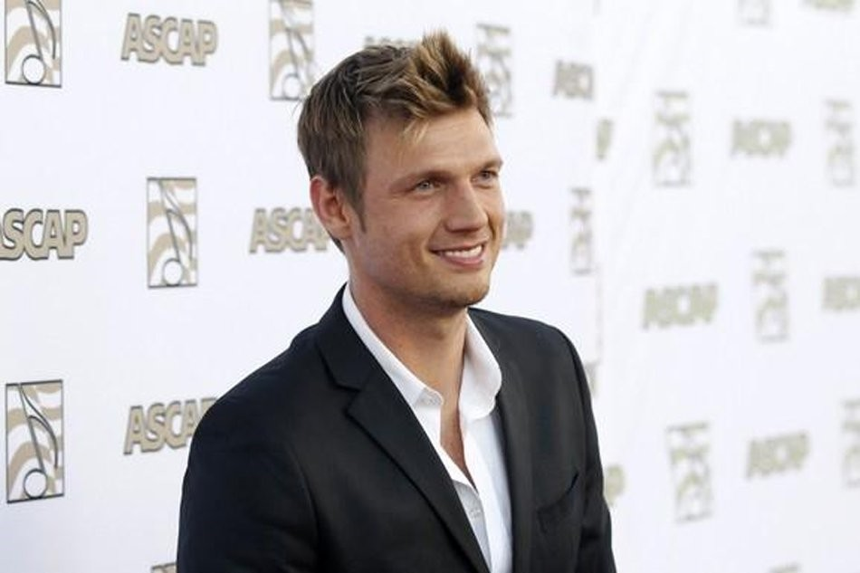 Nick Carter of the Backstreet Boys poses at 30th annual ASCAP Pop Music Awards in Hollywood, California April 17, 2013. (REUTERS Photo)
