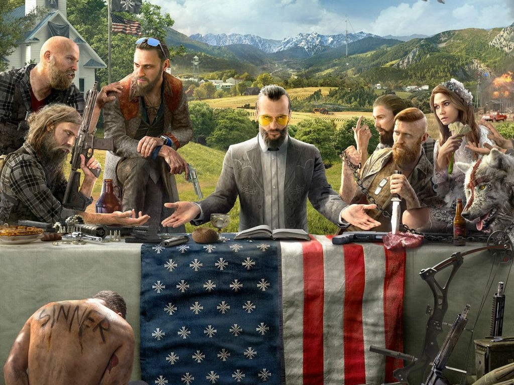 Far Cry 5 cover.
