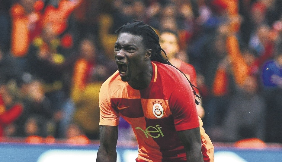 Though he brought his team to level, Gomis was shown a red card and will miss the next match.