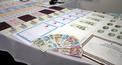pTwo suspects were arrested in Istanbul under charges of selling counterfeit passports and ID cards to terrorist organization members and illegal migrants.  /p  pThe suspects, Ö.Ş. (50) and...