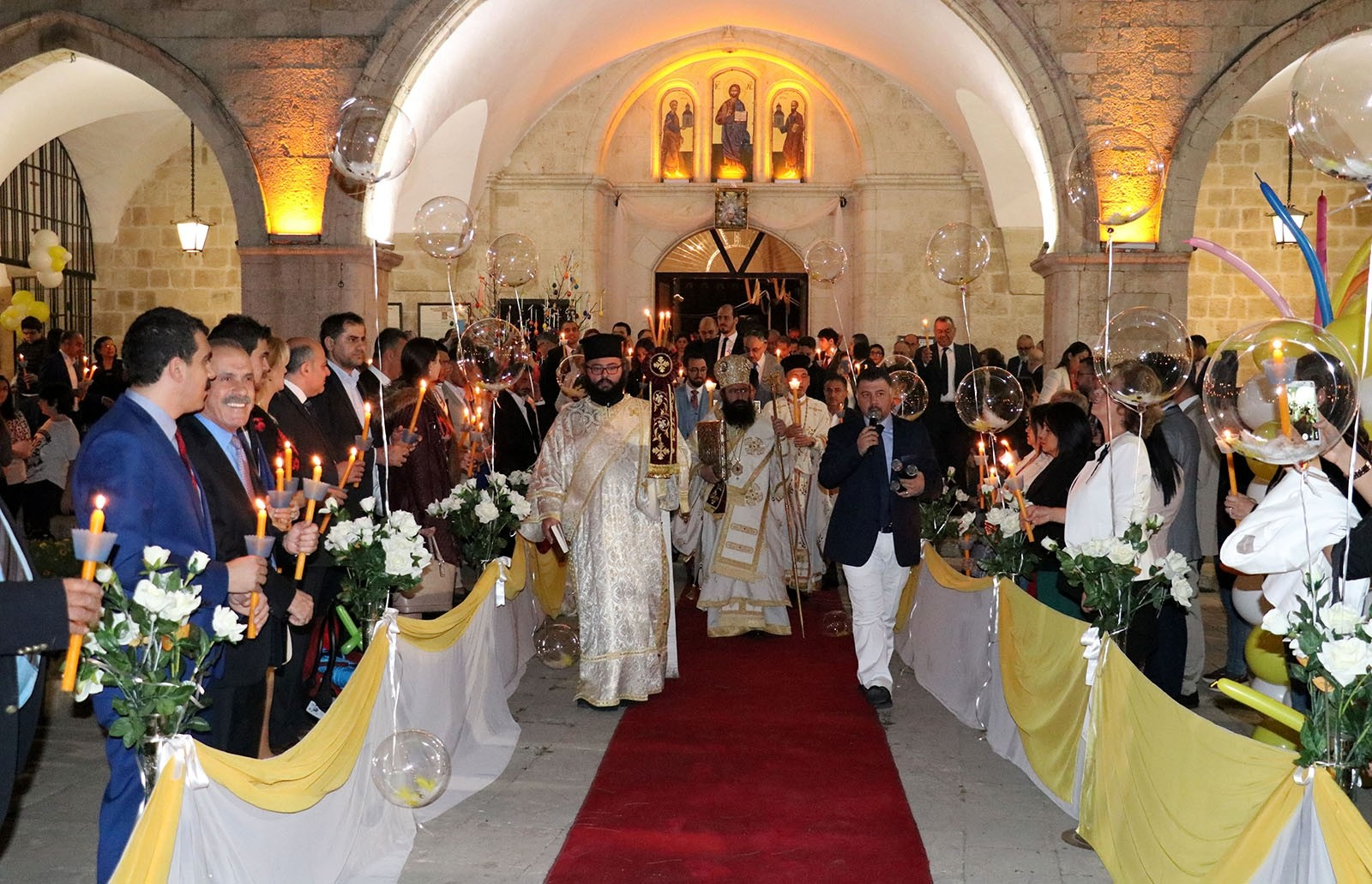 Orthodox Christians in Turkey's Hatay province attend Easter celebrations AA Photo