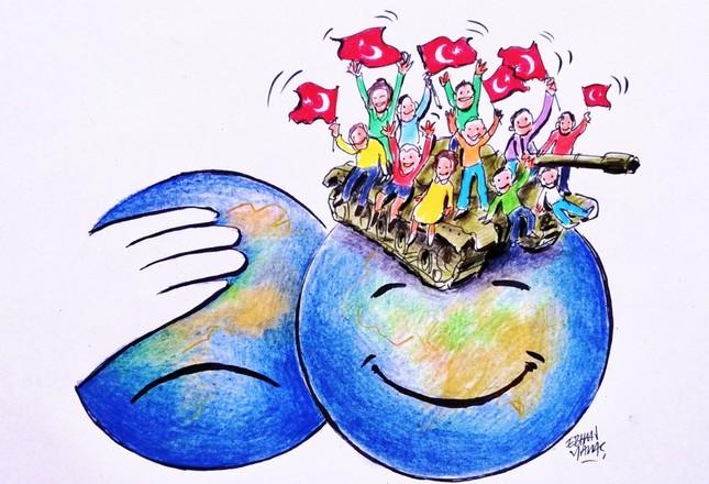 Western media should admire democracy, not FETÖ