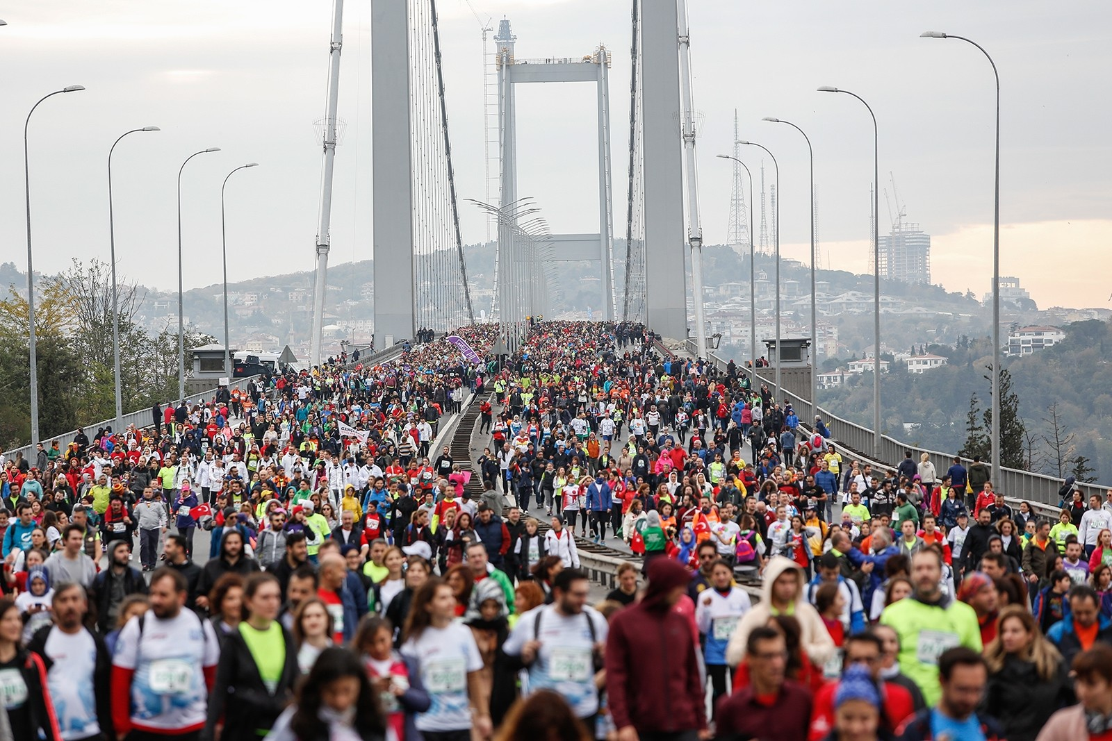World's only cross-continental marathon held in Istanbul