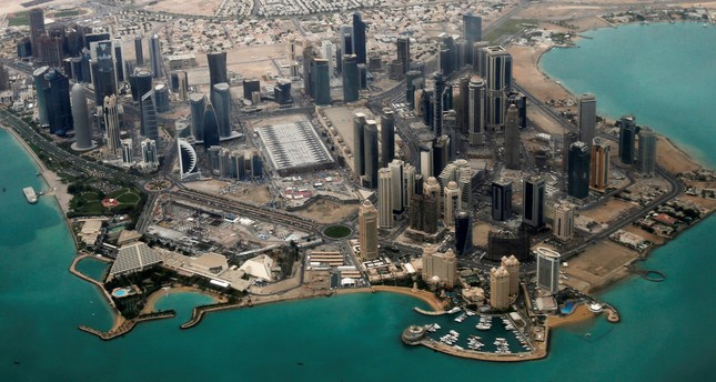 An aerial view of Doha's diplomatic area March 21, 2013. (REUTERS Photo)