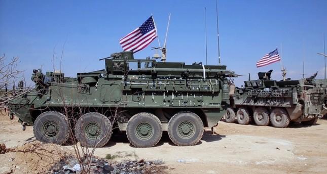 قوات أمريكية بالقرب من منبج السورية (من الأرشيف)