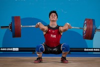 Turkey's Özbek wins weightlifting gold in Youth Olympics