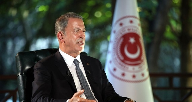 وزير الدفاع التركي خلوصي أقار في لقاء خاص مع قناة الجزيرة الإخبارية DHA
