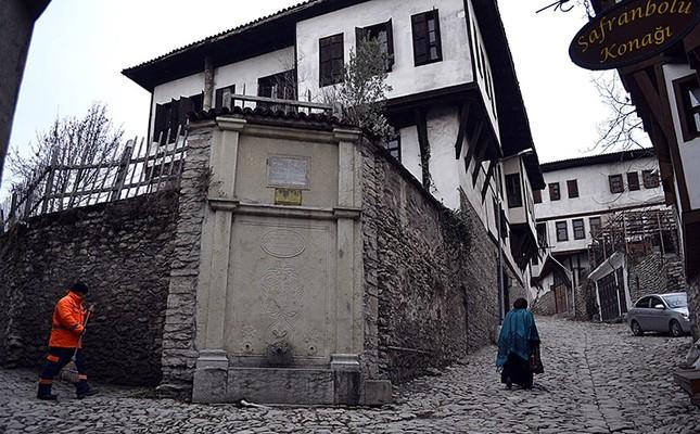 Ottoman fountains to be restored in Turkish UNESCO World Heritage site Safranbolu