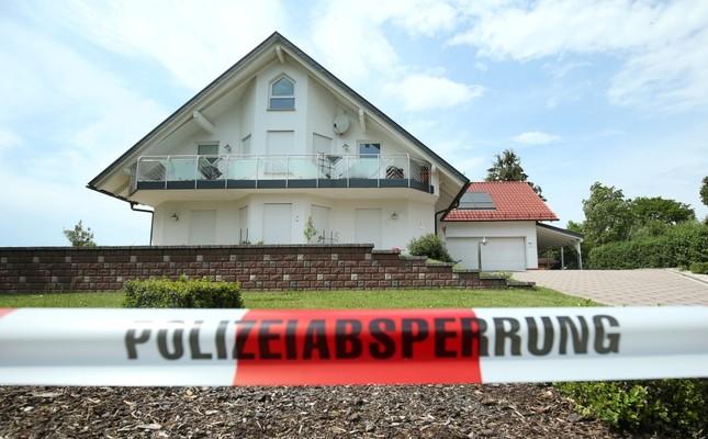 The house of District President of Kassel Walter Lübcke, who was found dead in Wolfhagen-Istha near Kassel, June 3, 2019.