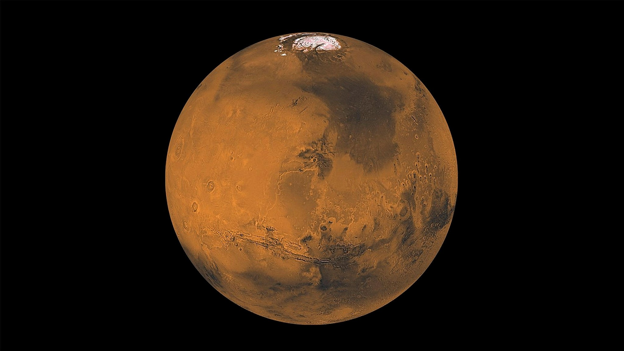 The 'Red Planet' Mars