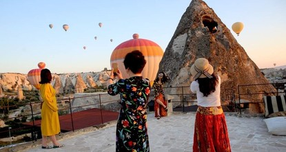 Cappadocia breaks record in tourist numbers with over 3.8 million visitors