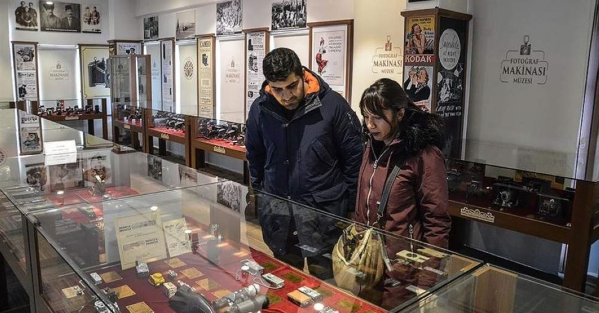 The Malatya Camera Museum presents 2,023 different cameras to its visitors. (AA Photo)