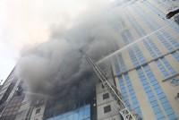 Mindestens fünf Tote bei Brand in Büroturm in Dhaka