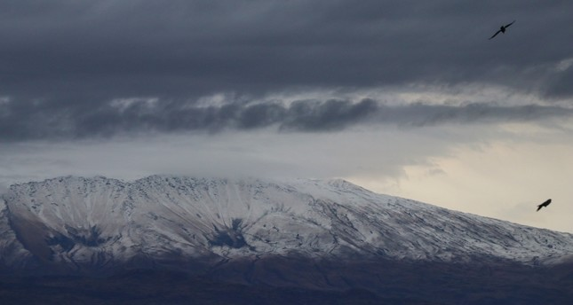 Mt Ararat welcomes winter with first snow of the year
