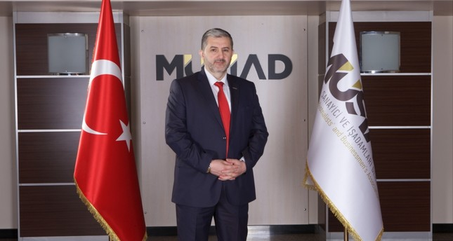 Chairman of Independent Industrialists and Businessmen Association (MÜSİAD) Abdurrahman Kaan.