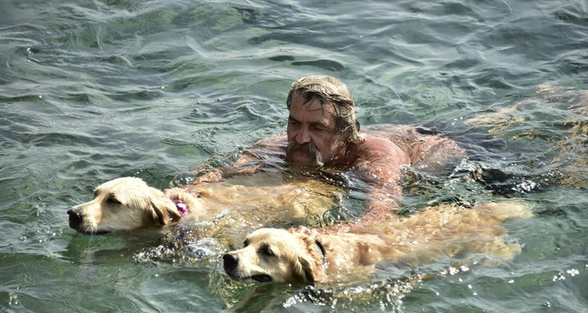 'The Golden Retriever Man of Bodrum' says his final goodbye
