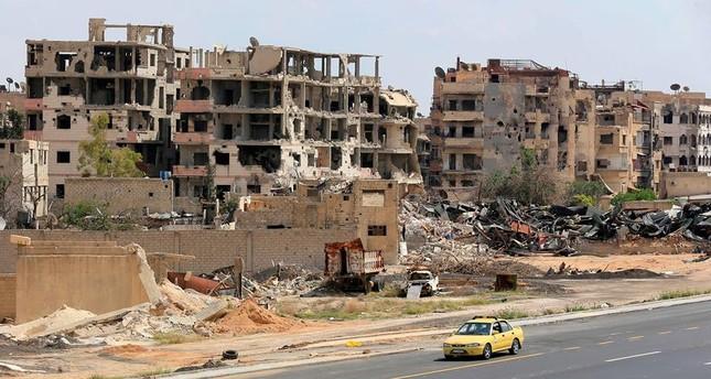 بدء أول عملية إجلاء لعناصر من تنظيم داعش من جنوب دمشق