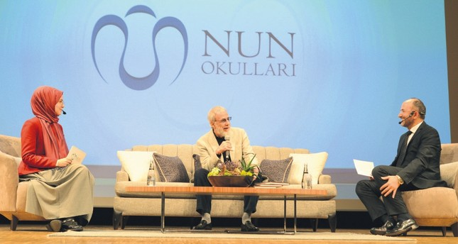 Yusuf Islam spoke at an event hosted by NUN schools in Istanbul.