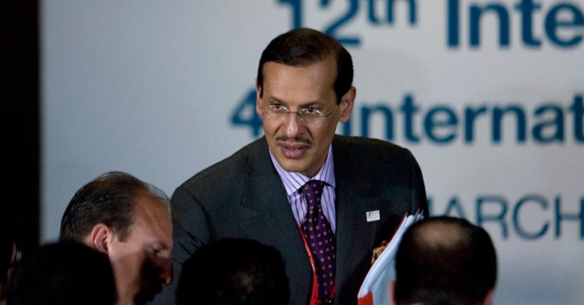 In this March 31, 2010, file photo, Saudi Arabia's Prince Abdulaziz bin Salman attends the International Energy Forum in Cancun, Mexico. (AP Photo)