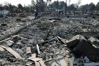 California fires claim 17 lives, destroy 3,500 homes and buildings