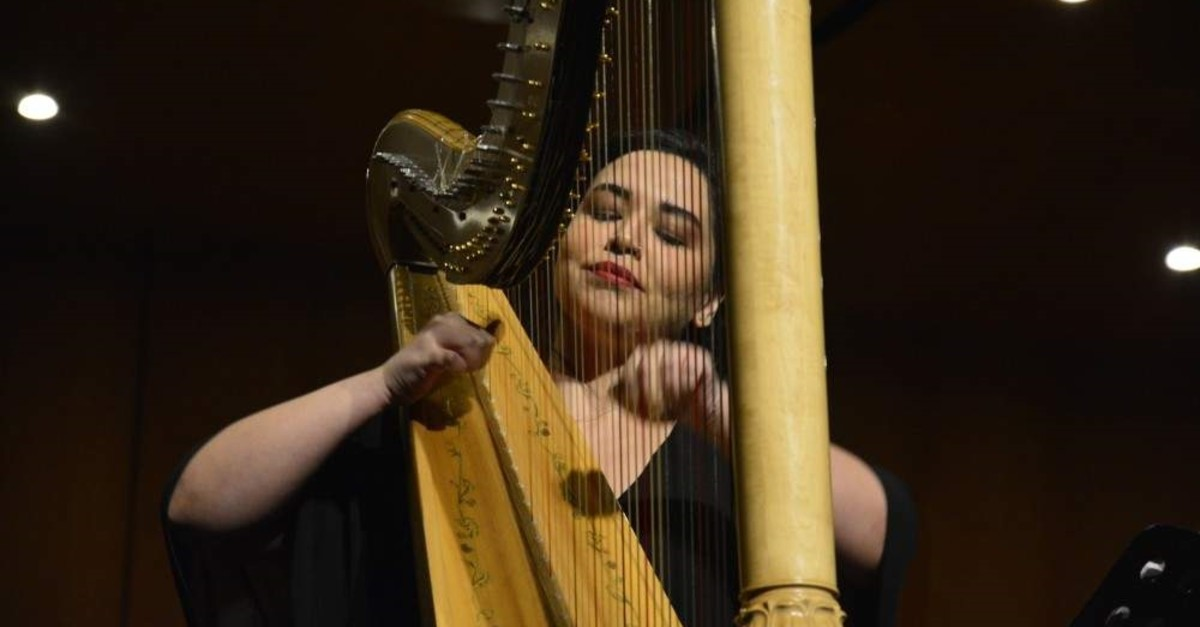 The festival will feature solo harp and chamber music competitions. (AA Photo)