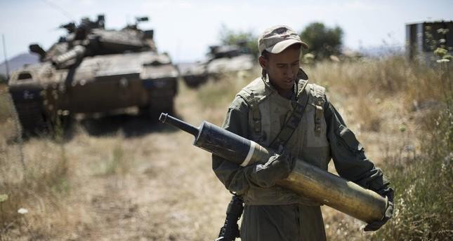 تدريب عسكري إسرائيلي مفاجئ في الجولان السورية المحتلة