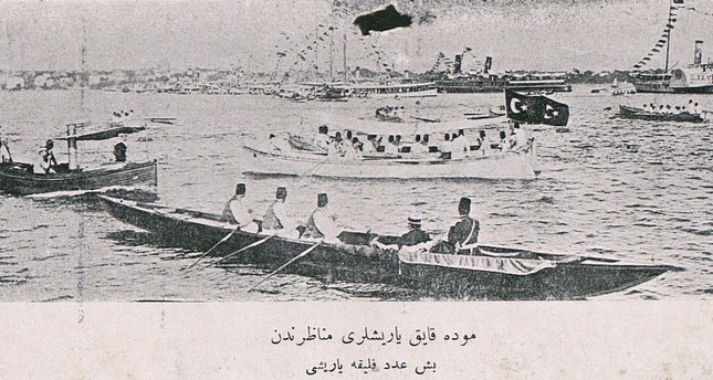 The history of rowing along the Bosporus in Ottoman Istanbul