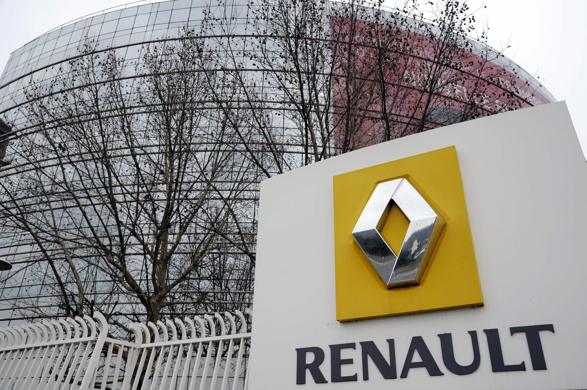 This file photo taken on January 18, 2013 shows a partial view of French car maker Renault headquarters in Boulogne-Billancourt. (AFP Photo)