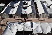 وضع المخيمات على الجزر اليونانية غاية في السوء