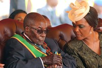 Zimbabwe's first lady challenges 93-year old husband to name successor