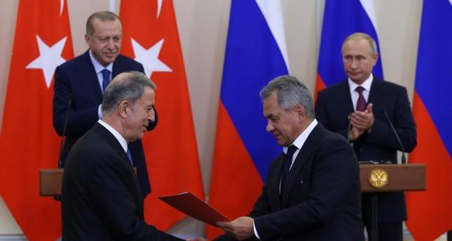 تركيا وروسيا توقّعان مذكّرة تفاهم لضمان استقرار الوضع في إدلب