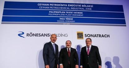 شركتان تركية وجزائرية ستستثمران أكثر من مليار دولار في مصنع بولي بروبلين