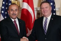 Çavuşoğlu, Pompeo discuss US withdrawal from Syria