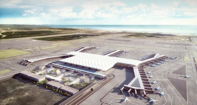 مطار إسطنبول الثالث يشهد اليوم أول عملية هبوط لطائرة تقل أردوغان ويلدريم