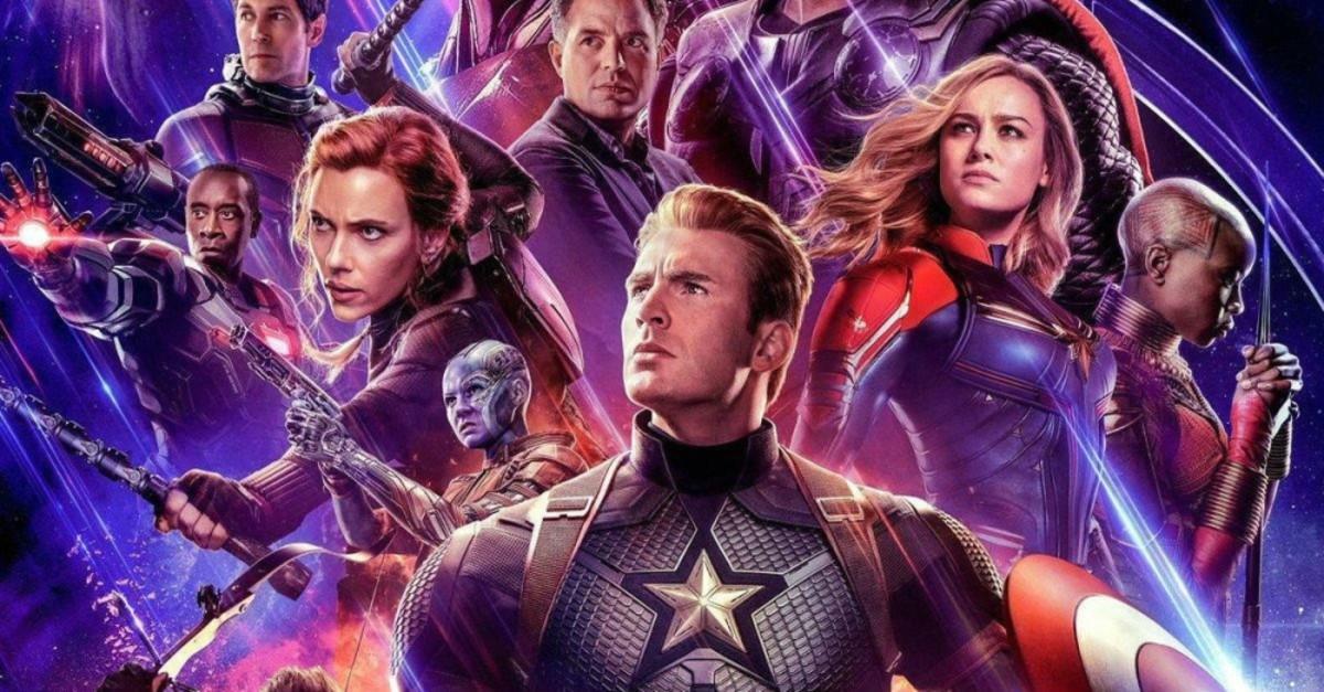 Still from ,Avengers: Endgame.,