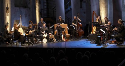 Baroque music with hints of jazz on Istanbul stage