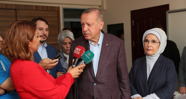 الرئيس أردوغان يهنئ إمام أوغلو بالفوز برئاسة بلدية إسطنبول