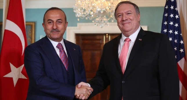 FM Çavuşoğlu discusses Armenia bill in US House, Syria with counterpart Pompeo