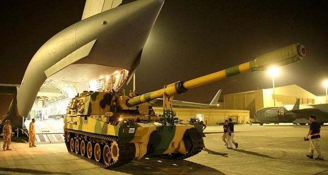 انطلاق مناورات عسكرية مشتركة بين تركيا وقطر